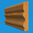 Regency D Oak Dado Rail