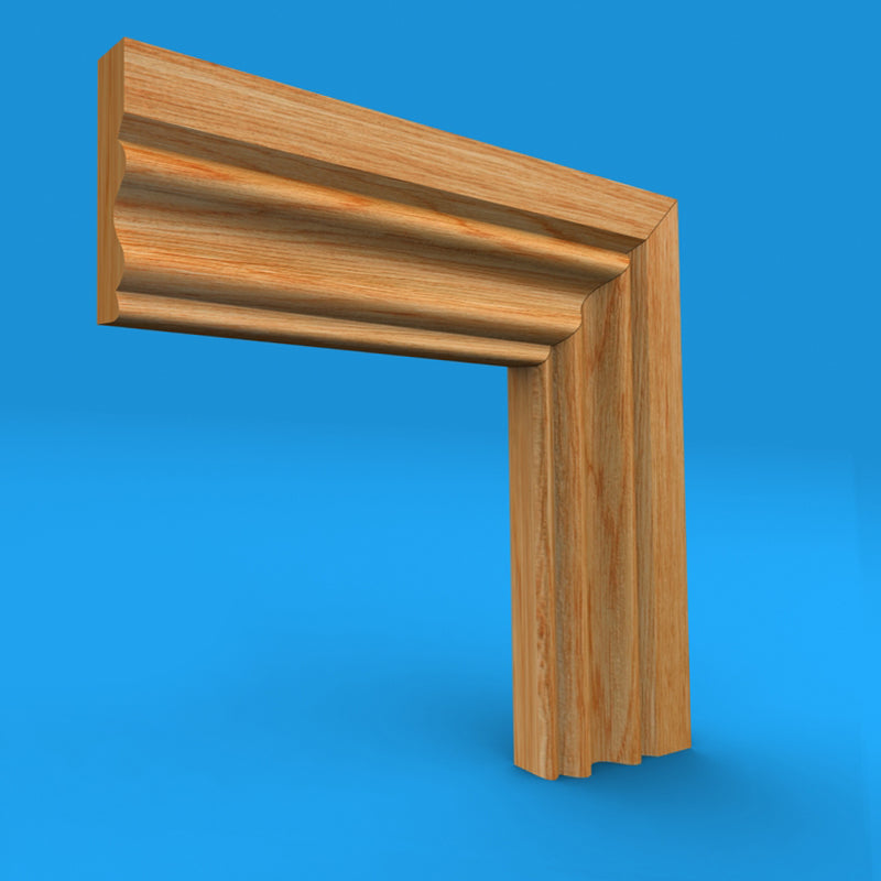 Regency D Oak Architrave