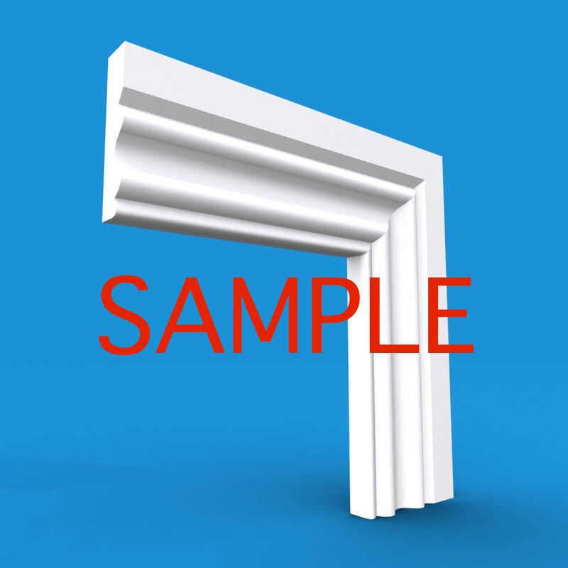 Regency D MDF Architrave Sample