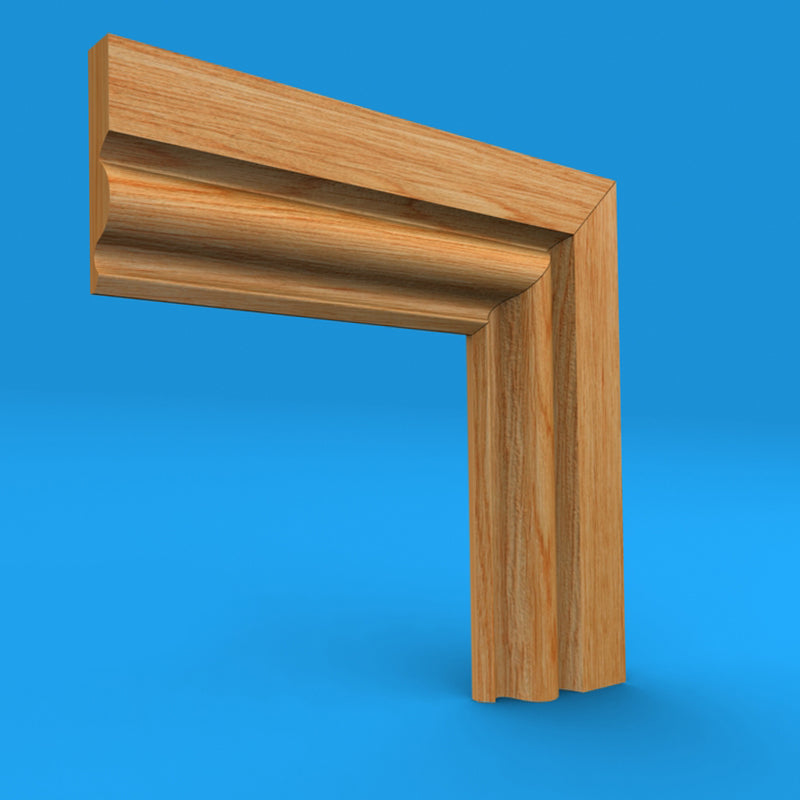 Regency Ogee Oak Architrave