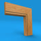 Edge Grooved Oak Architrave