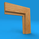 Rebate 45 Oak Architrave