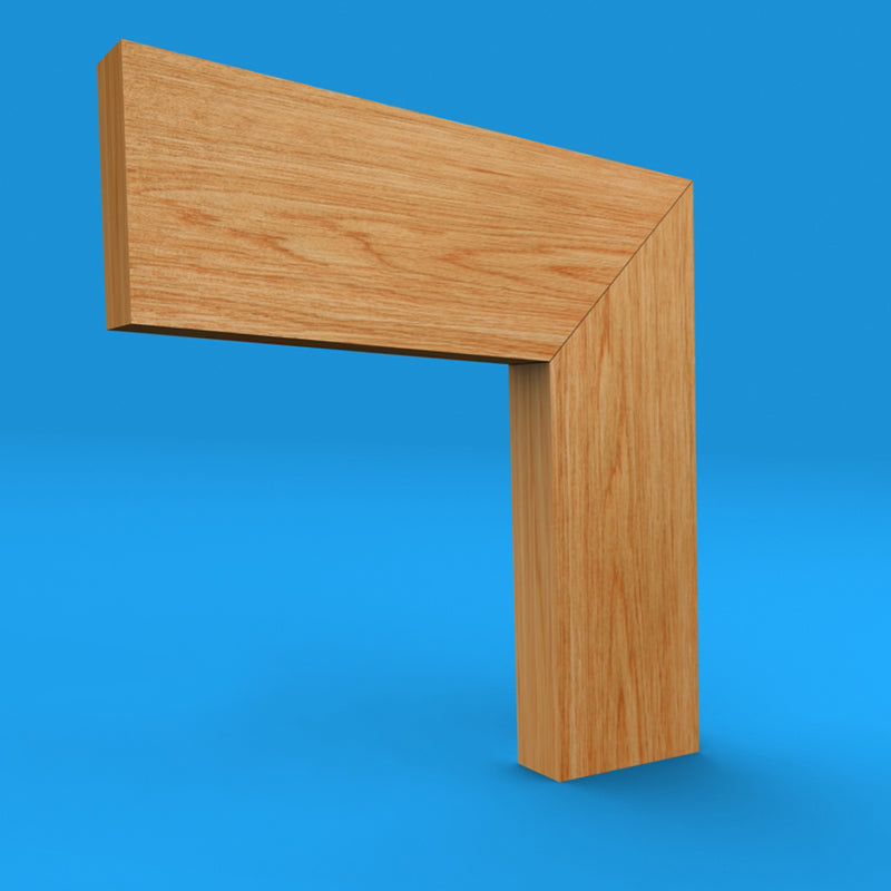 Square Edge Oak Architrave