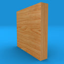 Square Edge Solid Oak Skirting Board