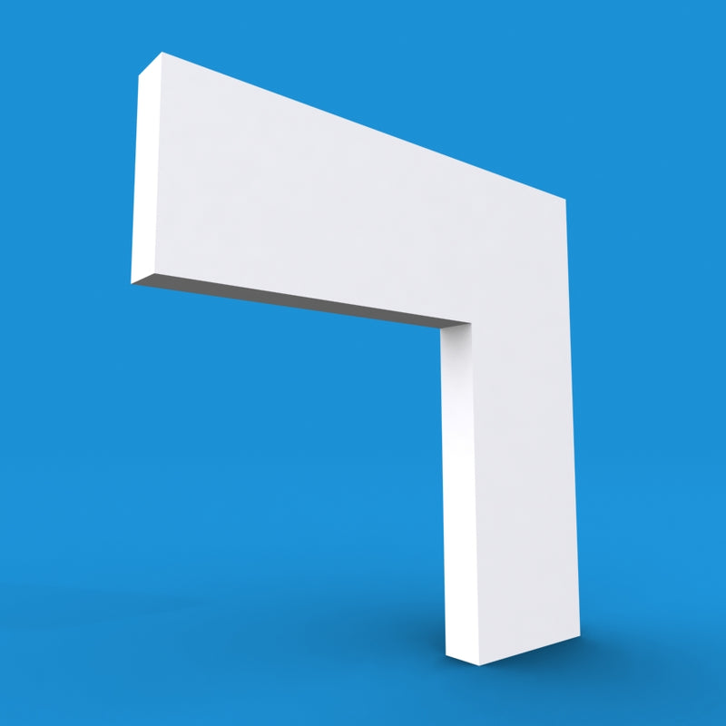 Square MDF Architrave 5.4m