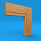 Square Edge C Grooved Oak Architrave