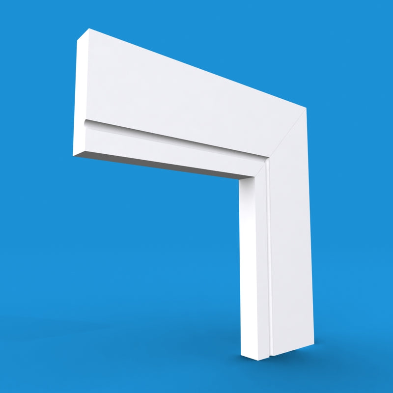 Square Edge C Grooved MDF Architrave