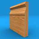 Large Ogee Solid Oak Skirting Board