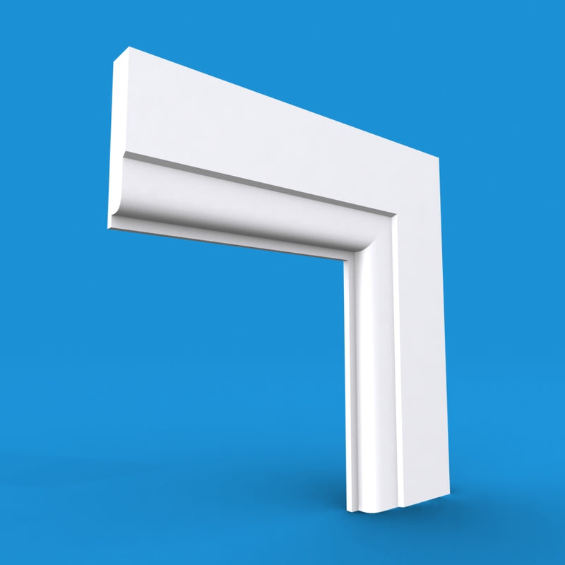 Lambs Tongue MDF Architrave 5.4m