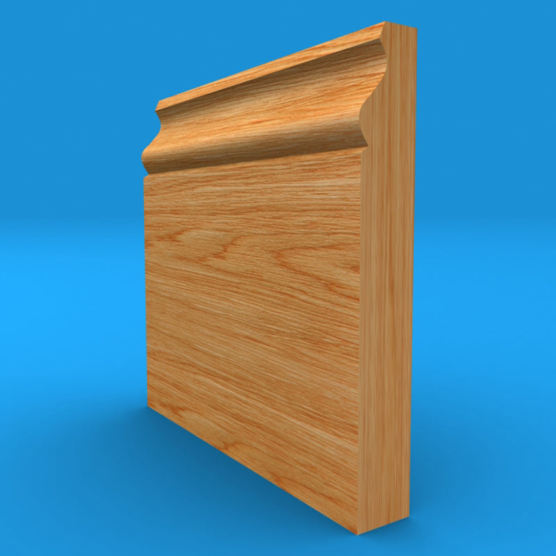 Ovolo Mini Oak Skirting Board