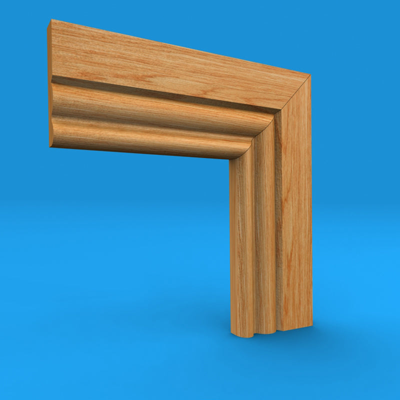 Ogee 3 Oak Architrave