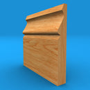 Ogee Solid Oak Skirting Board