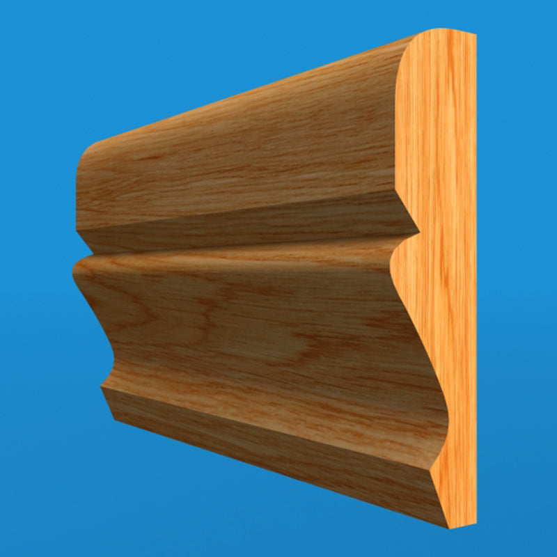 Ogee Oak Dado Rail