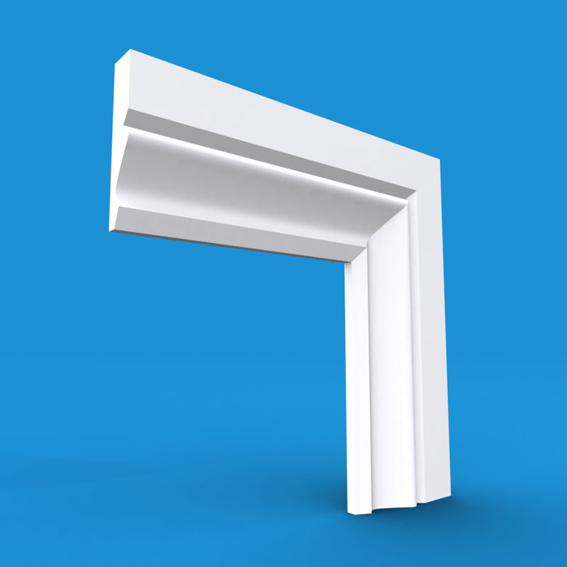 Ogee MDF Architrave 5.4m