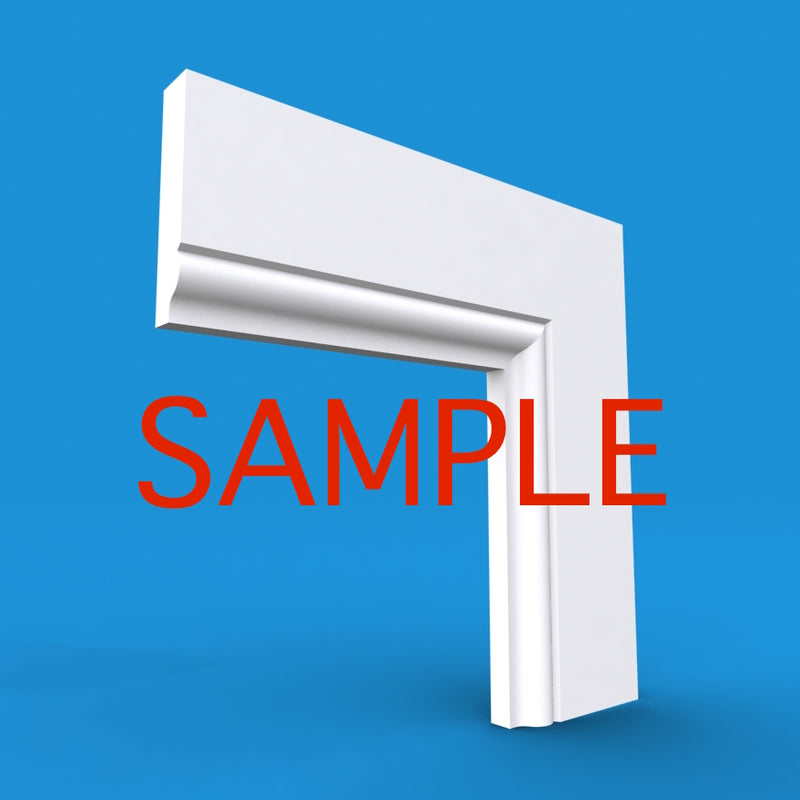 Ovolo Mini MDF Architrave Sample