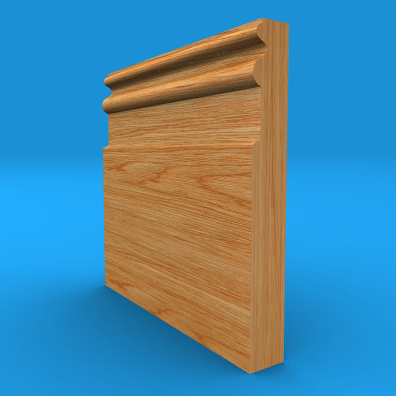 Queens Oak Skirting Board