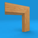 Mini Stepped Oak Architrave