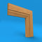 Chamfered Square V Grooved Oak Architrave