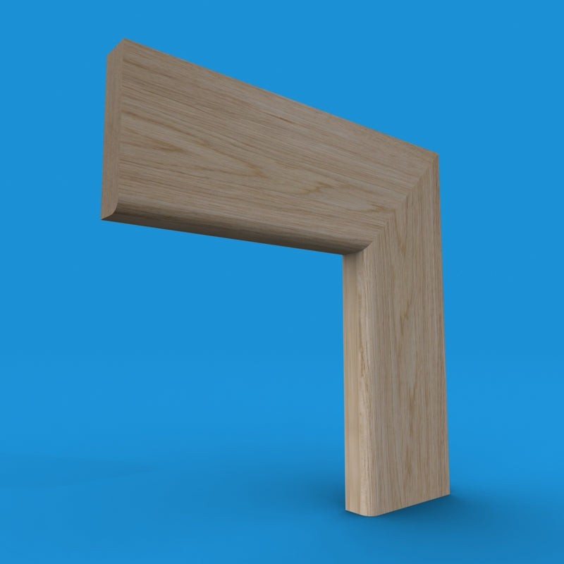 Bullnose White Oak MDF Architrave