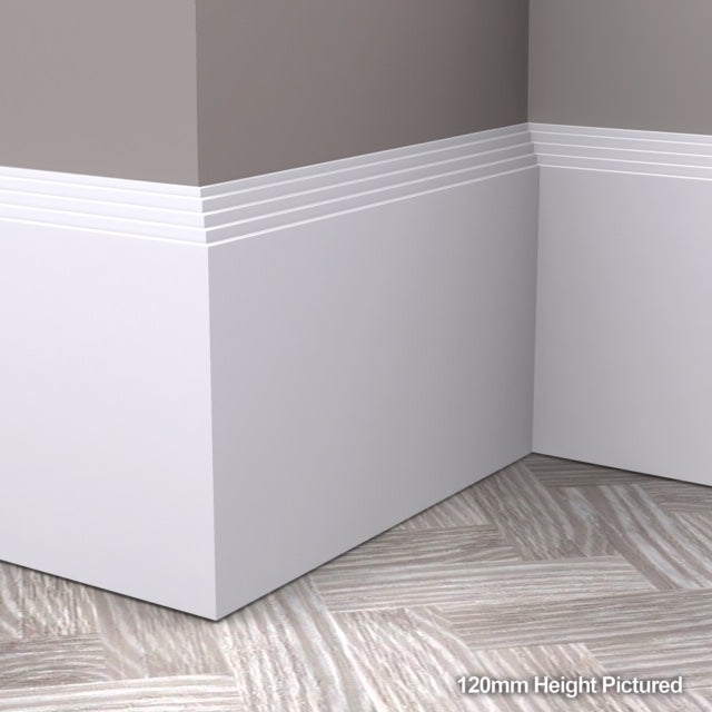 Mini Stepped Skirting Board