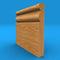Ogee 3 Solid Oak Skirting Board