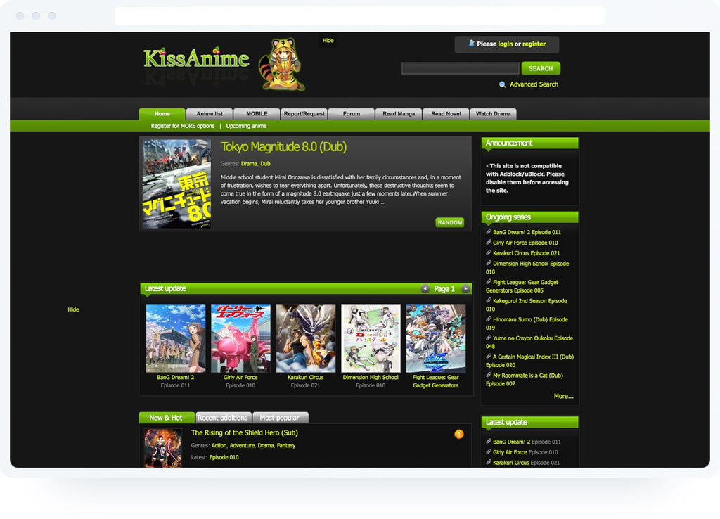 KissAnime website review