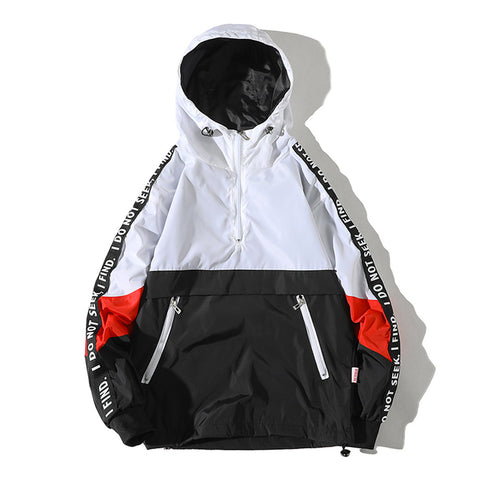 Seeker/Finder Pullover Windbreaker