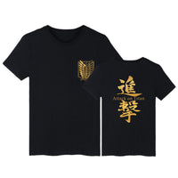Attack on Titan Survey Corps Kanji T-Shirt - Otakupicks