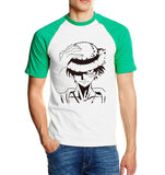 One Piece Monkey D. Luffy Raglan T-Shirt Green