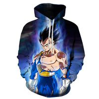 Dragon Ball Z Smooth Vegeta Hoodie - Otakupicks