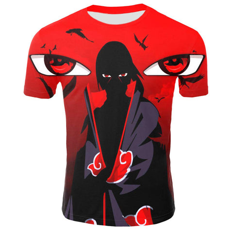Naruto Eyes of Akatsuki Shirt