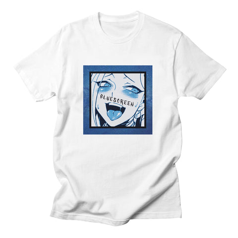Bluescreen of Ahegao T-Shirt - Otakupicks