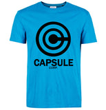 Dragon Ball Z Capsule Corp. T-Shirt - Otakupicks