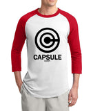 Dragon Ball Z Capsule Corp Raglan Shirt