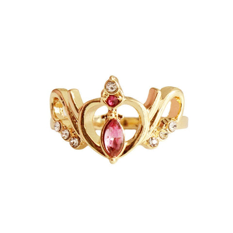 Sailor Moon Crown Ring - Otakupicks