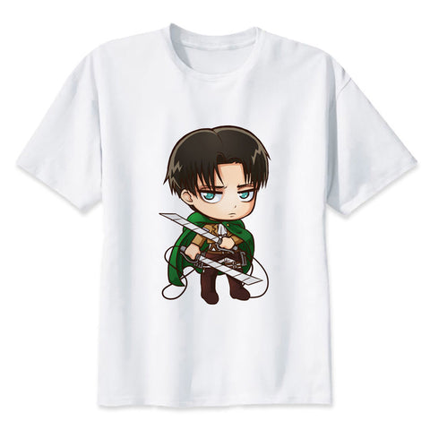 Attack on Titan Chibi Levi Ackerman T-Shirt - Otakupicks