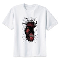 Attack on Titan Peeking Titan T-Shirt