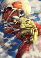 Attack on Titan Colossal Titan Poster - Otakupicks