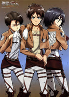 Attack on Titan 3 Musketeers Poster - Otakupicks