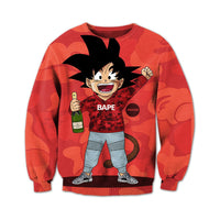 Dragon Ball Goku Bape Crewneck