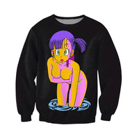 Black Bulma sweatshirt