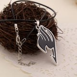 Fairy Tail necklace in black
