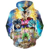 Dragon Ball Super Saiyan Forms Hoodie - Otakupicks
