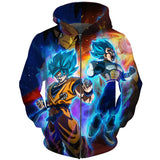 Dragon Ball Super Saiyan Gods Hoodie - Otakupicks