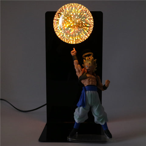Dragon Ball Z Super Saiyan Gogeta Lamp - Otakupicks