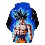 Dragon Ball Z Smooth Goku Hoodie - Otakupicks