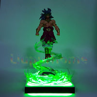 Dragon Ball Z Legendary Broly Lamp - Otakupicks