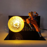 Dragon Ball Z Goku's Ki Blast Lamp - Otakupicks