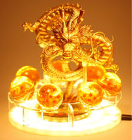 Dragon Ball Z Golden Shenron Lamp - Otakupicks