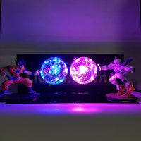 Dragon Ball Z Goku VS Frieza LED Lamp - Otakupicks